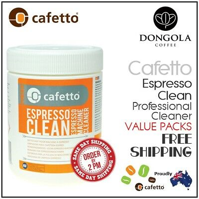 CAFETTO ESPRESSO CLEAN Coffee Machine Cleaner Professional Cleaning Back Flush