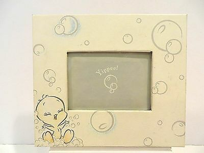 "Baby Tweety "" Bubbles"" Paper Covered Frame"