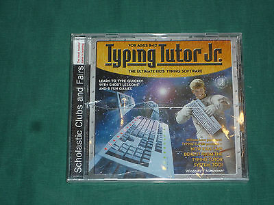 Simon & Schuster Interactive Typing Tutor Jr. (2002, WIN/MAC) NEW & SEALED!