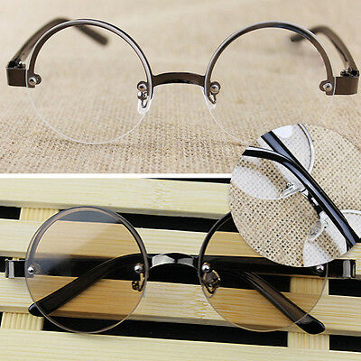Hot High Quality Half-frame Round Designer Reading Glasses 1.0-4.0 Unisex