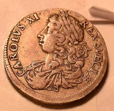 S0078 Sweden 1675  2 Mark  rare condition combine shipping