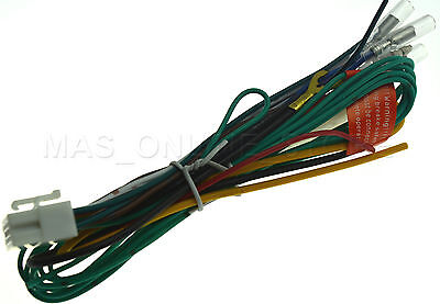 clarion vx 409 vx409 genuine power wire harness *pay today ships Clarion Car Stereo Wiring Diagram at Clarion Vx409 Wiring Harness