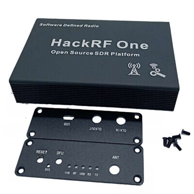 Black Aluminum Enclosure Cover case shell for HackRF One