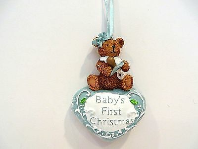 Baby's First Christmas Ornament / Boy