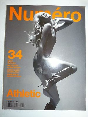 Magazine mode fashion NUMERO #34 juin 2002 Athletic