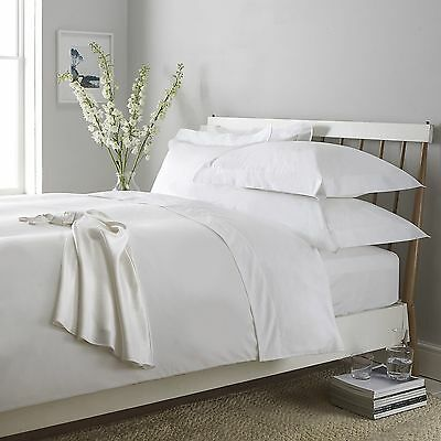 Luxury 100% Egyptian Cotton Percale 400Tc Flat Sheets All Uk Standard Sizes