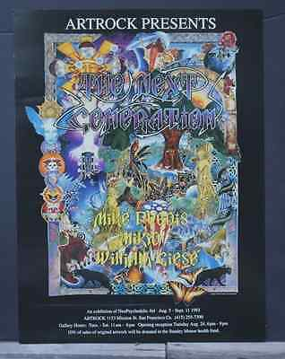 """Artrock """"The Next Generation '93"""" Exhibition Poster"""