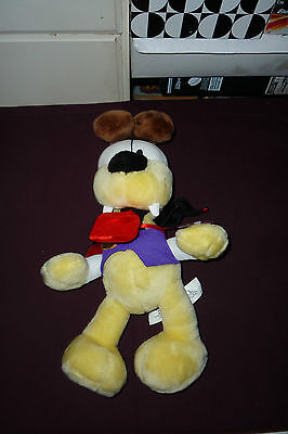 "15"" Garfield & Friends Vampire Odie The Dog Plush With Tag"