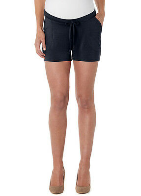 NEW - Noppies - Spacy Jersey Maternity Shorts in Dark Blue