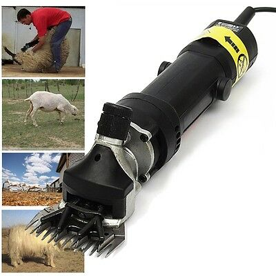 350W2400RPM Electric Sheep Goat Shearing Clipper Animal Livestock Shave Grooming