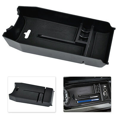 Fit Mercedes Benz W212 Center Console Armrest Storage Holder Tray Container Box