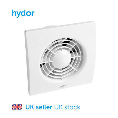 """Hydor 100mm (4"""") Residential Axial Flow Fan with timer HQS"""