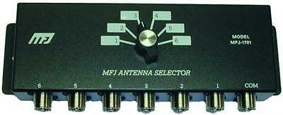 Mfj-1701 Commutatore Di Antenna 6 Vie 2 Kw