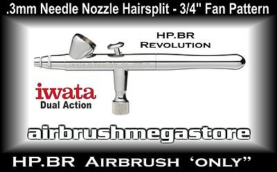 Iwata Revolution Airbrush HP.BR .3mm ( Airbrush Only ) + Free Insured Post