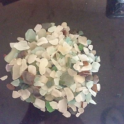 Genuine sea glass from north west coast, free post