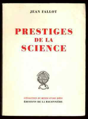 Jean Fallot Prestiges Science Signed 1960 First Edition