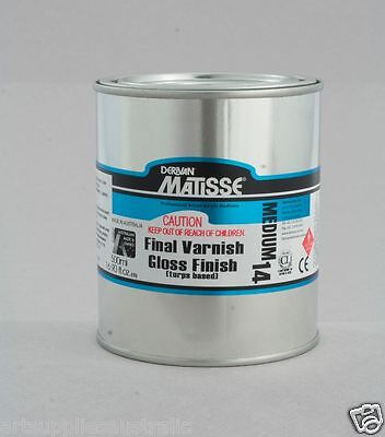 Matisse Hi Gloss Turps Varnish MM14 - 500 ml, On Special