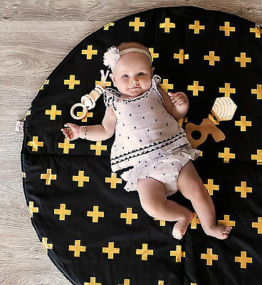 Bambella Designs Baby Play Mat - 16 Colours Available - Padded for Tummy Time