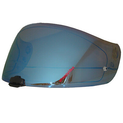 HJC Helmet Shield / Visor HJ-20M Blue Mirror For FG-17, IS-17, RPHA ST : Bike