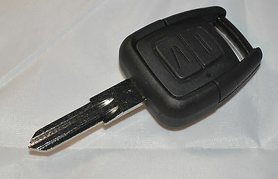 Fits Vauxhall Opel Vectra Zafira Astra Remote Key Fob 2 Button with Blank Blade