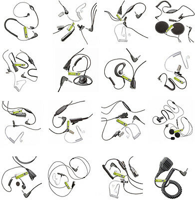 Earpiece Selection For Motorola Talkabout Radio (1Pin) Pentagon-Headsets
