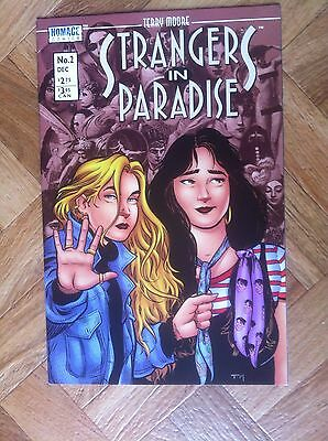 Strangers In Paradise #2 Terry Moore Homage Comics Very Fine/near Mint (F53)