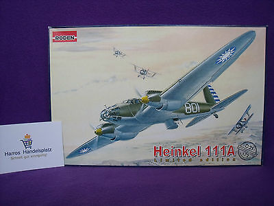 Roden ® 021 Heinkel He 111A Limited Edition 1:72