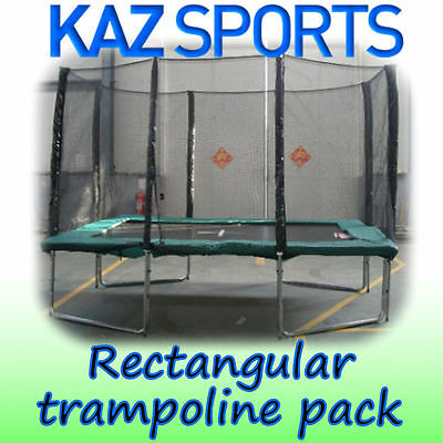 SKY FLYER ULTIMATE RECTANGULAR TRAMPOLINE PACK 7x10ft AND 8x12ft