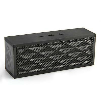 Black Block Bluetooth 3.0 Wireless Portable Speaker For Iphone Samsung Sony Ipad