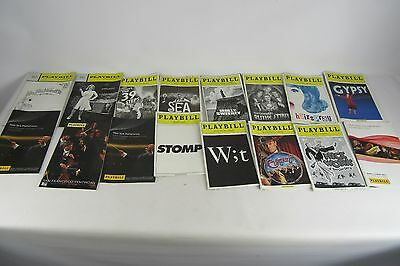 Lot of Theater Playbills Various Theaters (34)