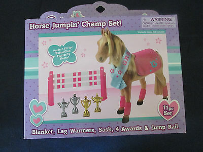 Butterflies Horse Jumpin' Champ Set