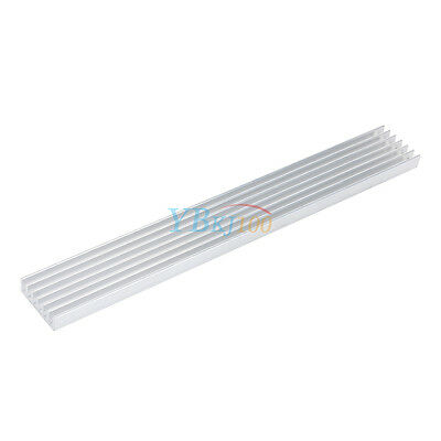 150*20*6mm Long Heatsink Aluminum Heat Sink for LED Power Emitter Diodes