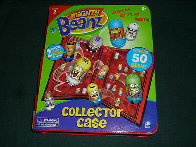 Official Mighty Beanz Series 2 Collector Case NEW with 2 Special Beanz Inside