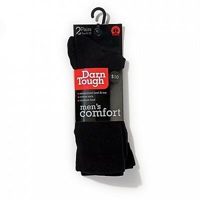 Darn Tough Men's Cushion Crew Socks 2 Pack. Free Delivery
