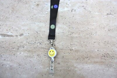 Lanyard With Retractable Reel ID Badge Holder/Key Card Chain /Security