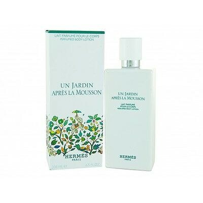 HERMES UN JARDIN APRES LA MOUSSON PERFUMED BODY LOTION - 200 ml