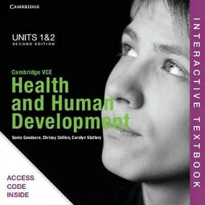 Cambridge VCE Health and Human Development Units 1 and 2 Interactive Textbook by