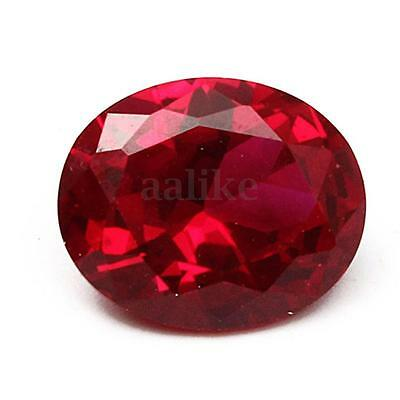9X11MM Beautiful Pigeon Blood Red Sapphire Lustrous Loose Gemstone Oval Shape