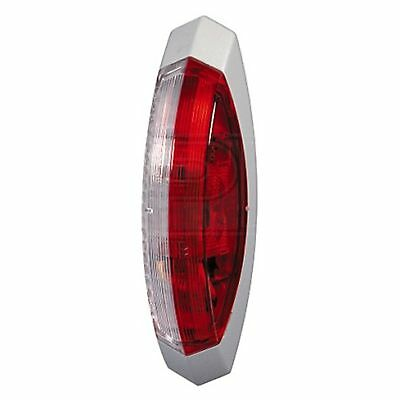 Marker Lamp: End Outline Marker Lamps Red/White Left | HELLA 2XS 008 479-087