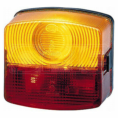 Combination Rear Light: Rear Lamp - Left Hand Fitment | Hella 2SE 003 182-011