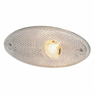Parklight Side Lamp with Reflex-reflector Clear Lens   HELLA 2PG 964 295-011