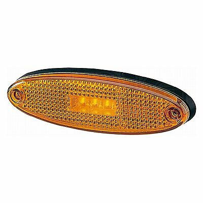 Side Marker Light: LED Side Marker 24v without Bracket | HELLA 2PS 007 943-017