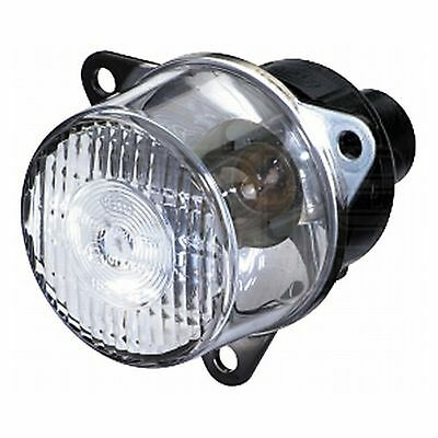 Marker Light: 55mm Position Lamp with Clear Lens   HELLA 2PF 008 221-017