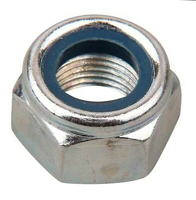 M7 Nyloc Nylon Hex Nuts High Tensile 8.8