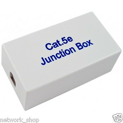 Cat5e UTP Junction Box RJ45 Ethernet LAN Network
