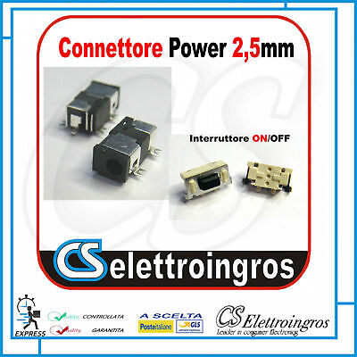 Connettore Alimentazione DC Power Jack PJ003 2,5 mm Toshiba Satellite 1000 1005