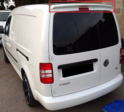 VW CADDY 2K 1 DOOR FROM 2003 REAR ROOF SPOILER NEW