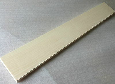 American Hard Maple Neck Blank - 700 x 100 x 21mm Tonewood Luthier Guitar