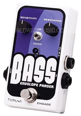 Pigtronix Bass Envelope Phaser Effects pedal for Bass Guitar