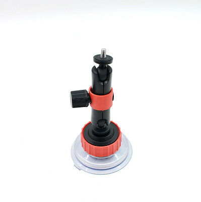 Action Video Suction Cup With Locking Arm Use Anti-Vibration Mount for GoPro and